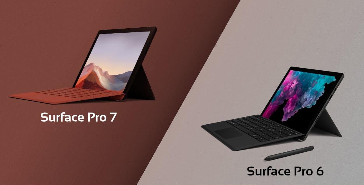 Surface Pro 6 vs Surface Pro 7: Có Đáng Để Nâng Cấp Không? - Mac 365